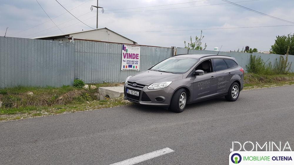 Vânzare spațiu comercial 300 mp + teren 5000 mp în Bumbești Jiu str. Sat Tetila