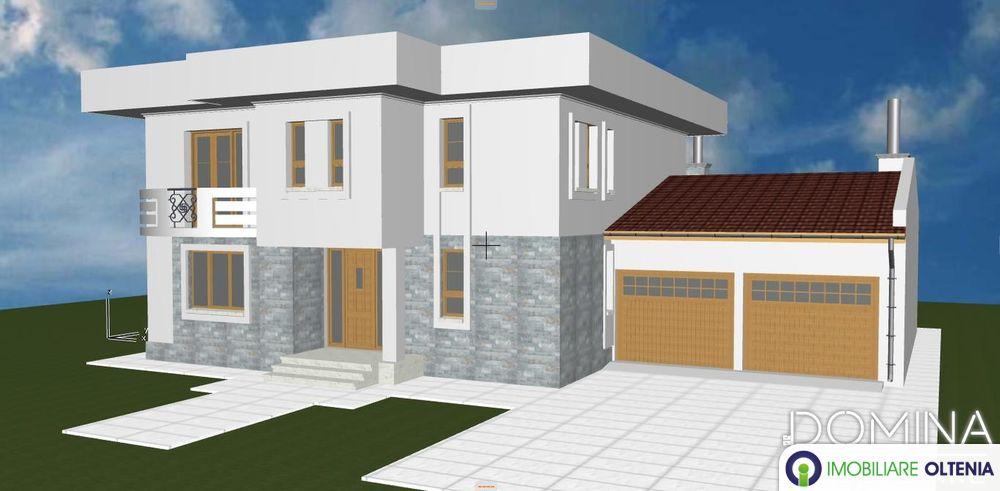 Vânzare  vilă în Târgu Jiu, strada Bicaz (model nonconformist)